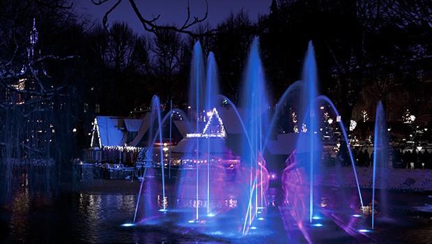 Tivoli Kopenhagen Christmas Illuminations