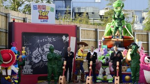 Toy Story land Disneyland Shanghai - Ground Breaking