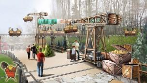 """Walibi Rhône-Alpes enthüllt Neuheit 2017: Monorail für """"Explorer Adventure""""-Themenbereich angekündigt"""