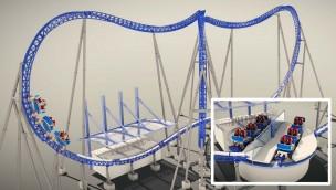 Xtreme Spinning Coaster MACK Rides Konzept