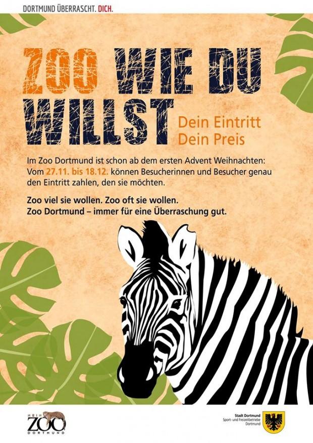 Zoo Dortmund - Preis selbst bestimmen 2016