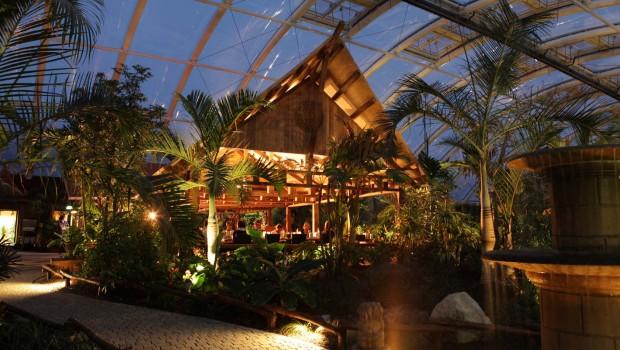 ZOOM Erlebniswelt - Restaurant Ryokan - Abendstimmung