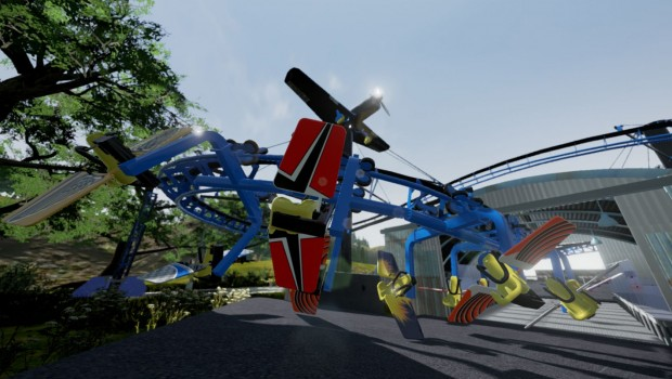 Air Loop - Ride Engineers Switzerland - Rendering