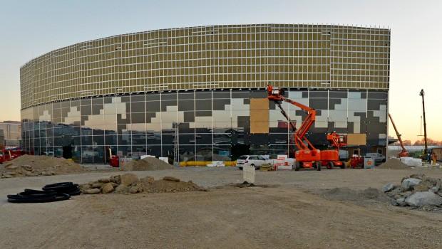 Apassionata World München - Show Palast Baustelle Dezember 2016
