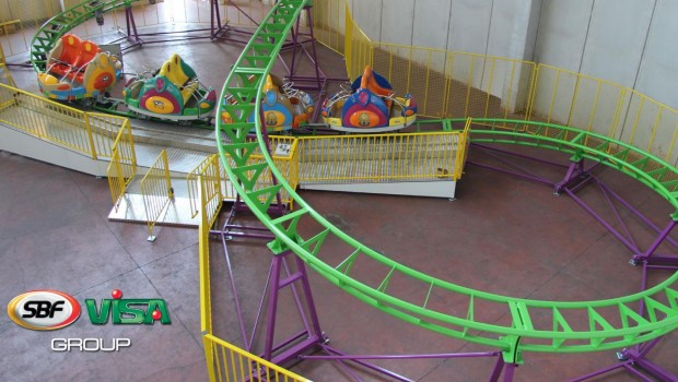 Compact Spinning Coaster - SBF Visa Group