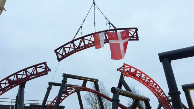 Drage Kongen - Djurs Sommerland - Schienenschluss