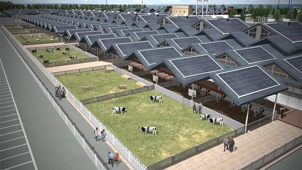 Eataly World Stallung Photovoltaik
