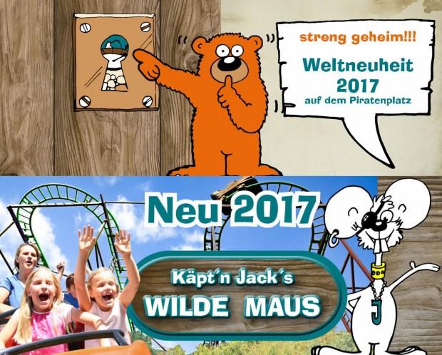 Eifelpark Gondorf Neuheiten 2017
