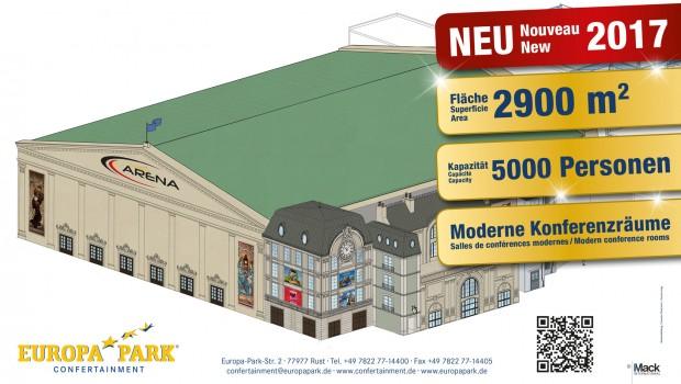 Europa-Park-Arena Konzeptgrafik