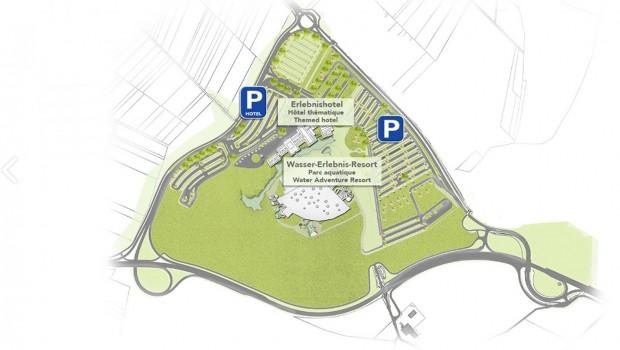 Europa-Park Wasserpark Flächenplan