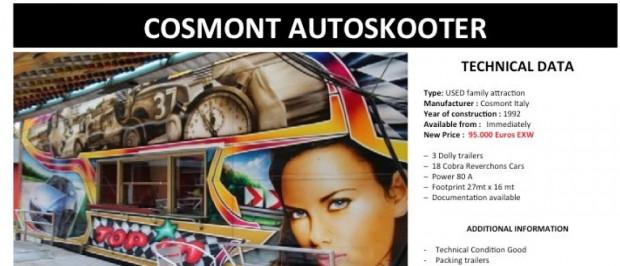 Cosmont Autoskooter (Eurotech Amusement)