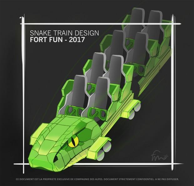 FORT FUN Speed Snake Zug-Design 2017