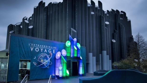 L'Extraordinaire Voyage - Futuroscope - Eingang