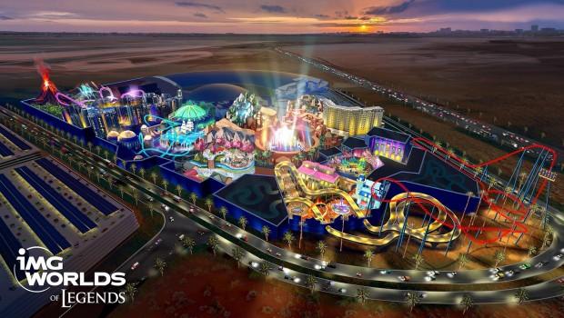 IMG Worlds of Legends Dubai Artwork