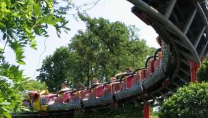 Jardin d'Acclimatation Achterbahn Dragon