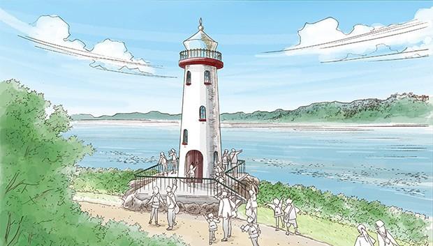 Metsä Japan Leuchtturm