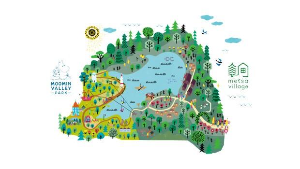 Metsä Japan Parkaufbau