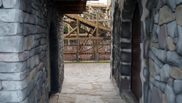 Plopsaland De Panne - Heidi Schweizer Bergdorf Thematisierung - Baustelle 10