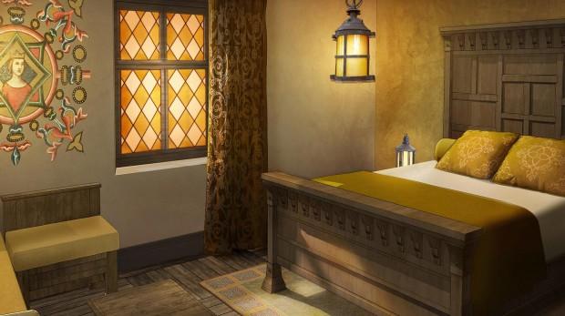 Puy du Fou neues Hotel La Citadelle Zimmer