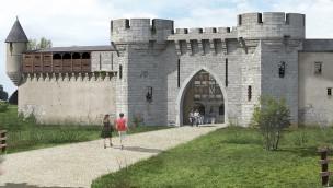 Puy du Fou neues Hotel La Citadelle Außenansicht