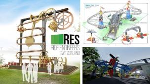 Interaktive Achterbahn und mehr: Ride Engineers Switzerland präsentiert sich mit neuen Konzepten