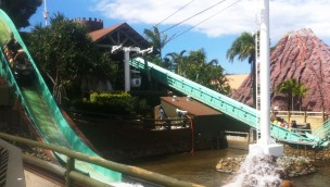 Sea World Gold Coast Vikings Revenge Flume