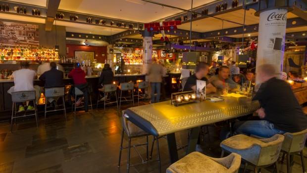 Spirit of St. Louis Bar im Europa-Park von innen
