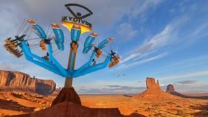 "Technical Park stellt ""SkyDiving"" vor: Gleitschirm-Fahrgeschäft mit Virtual-Reality-Erfahrung"
