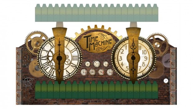 Time Machine Seabreeze Amusement Park 2017 Artwork