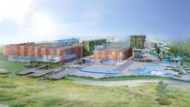 Wasserpark Libourne Konzeptgrafik