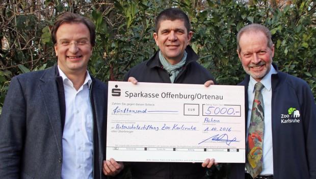 Zoo Karlsruhe und Vogelfreunde Achern Kooperation