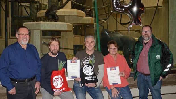 Allwetterzoo Münster Gorilla Paten-Party 2017