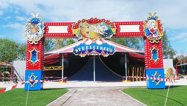 BillyBird Park Hemelrijk Speelcircus Spielzirkus Aussen