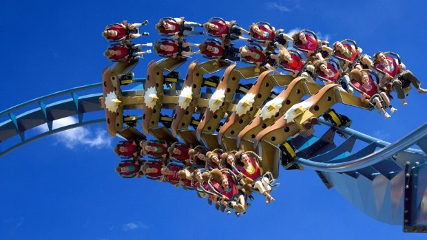 Bolliger-Mabillard Wing-Coaster - Inversion
