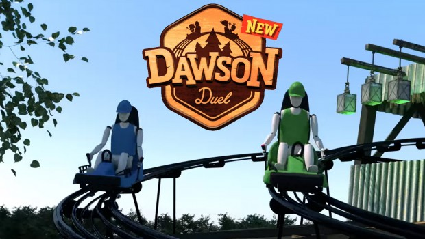 Dawson Duel - Bellewaerde 2017 Duelling Alpine Coaster Collage