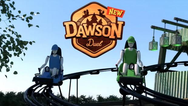 Dawson Duel - Bellewaerde 2017 Duelling Alpine Coaster Collage