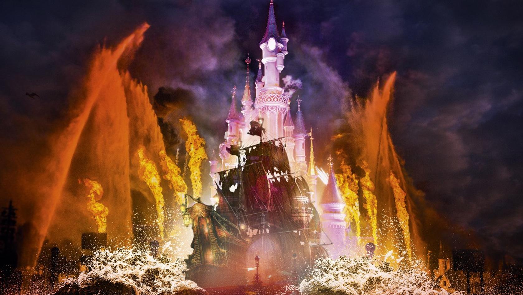 Disney illuminations 2017 in disneyland paris neue t gliche abendshow ab 26 m rz - Illumination noel paris 2017 ...