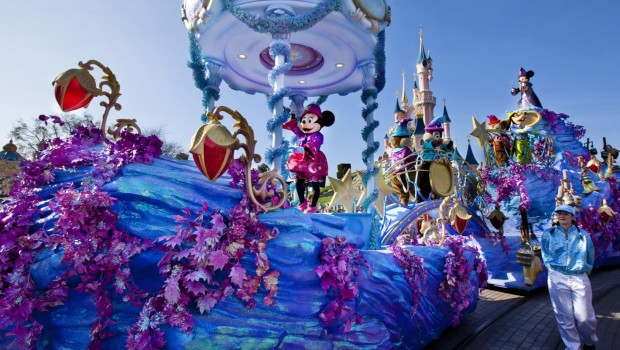 Disney Magic on Parade in Disneyland paris 2015