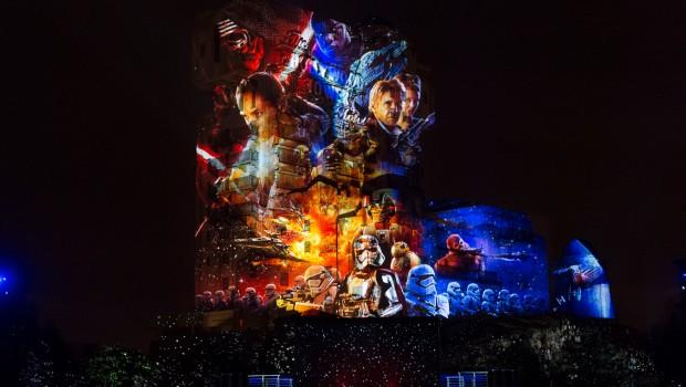 Disneyland Paris - Zeit der Macht Projektionsshow 2017
