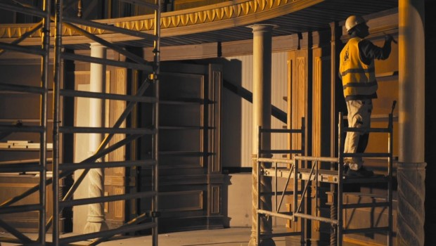 Efteling Symbolica von Innen - Baustellenbild