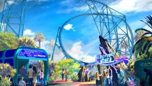 "SeaWorld San Diego kündigt ""Electric Eel"" an: Sky Rocket II eröffnet 2018"