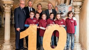 """Charity-Lunch 2017 im Europa-Park-Hotel """"Santa Isabel"""" bringt 27.000 Euro für Kinderschutzbund ein"""