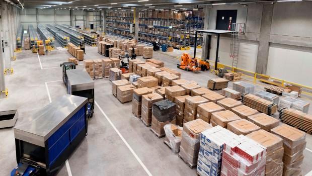 Europa-Park Logistikzentrum - Einblick