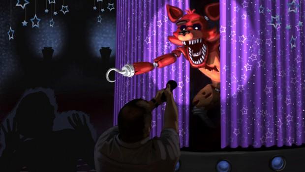 Five Nights at Freddy's Freizeitpark-Attraktion Konzept