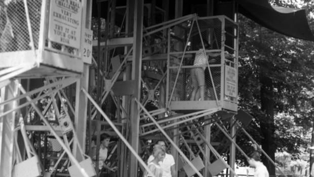 Flying Cages Knoebels Amusement Resort