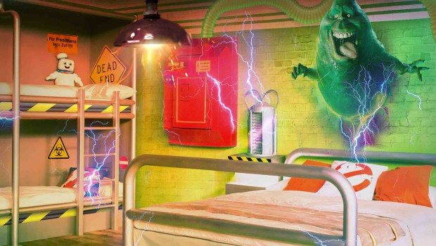 Ghostbusters Hotel Heide Park Artwork