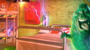 Ghostbusters Zimmer Heide Park Hotel - Artwork