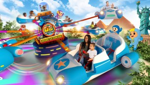 Go Jetters Vroomster Zoom Ride in Alton Towers 2017 - Artwork