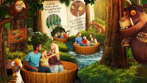 Grüffelo-Fahrgeschäft in Chessington World of Adventures - Artwork