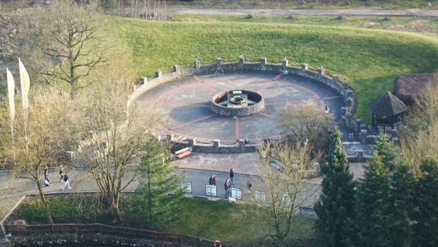 Heide Park Riesenkrake Abriss